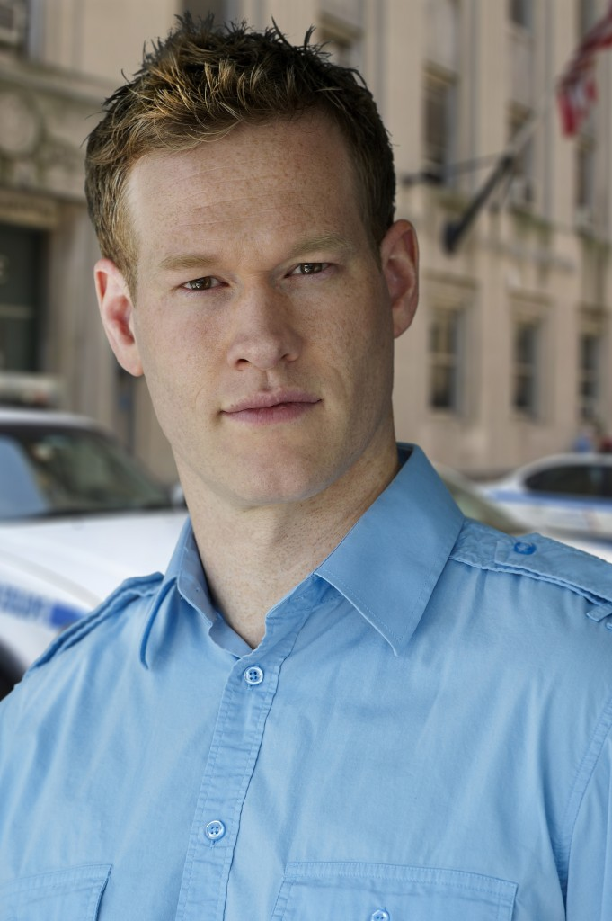 Cop Vancouver Actor headshot